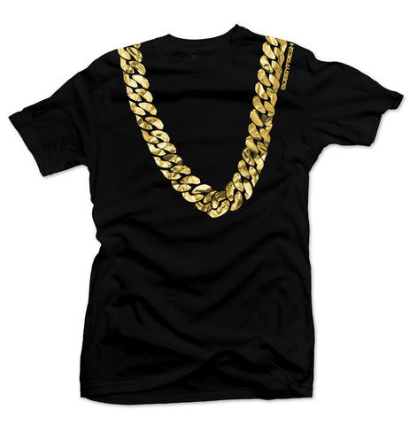 Heavy Black/Gold Foil Tee