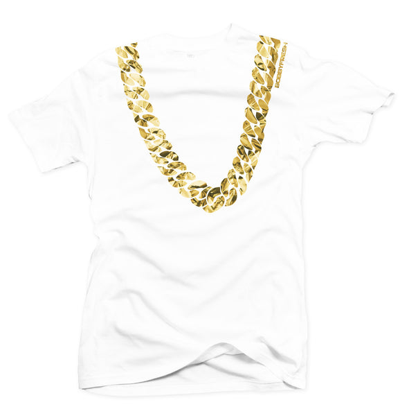 Heavy White/Gold Foil Tee