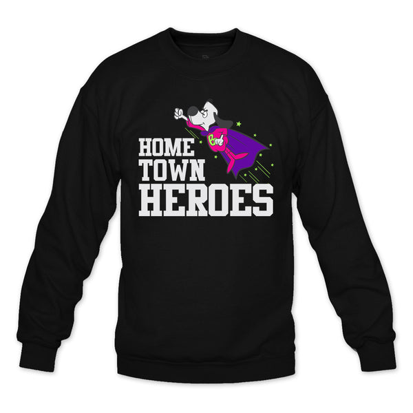 Hometown Heroes Black/Bel Air Crewneck