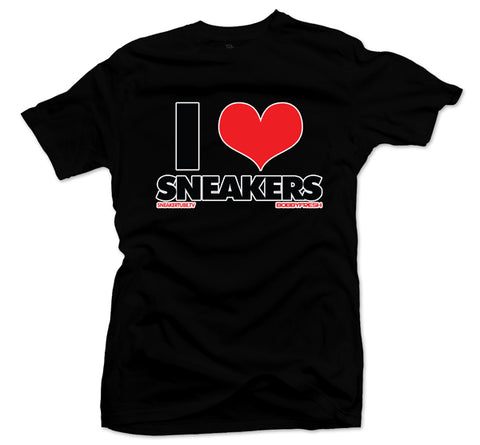 Bobby Fresh x SneakerTube I Love Sneakers Black Tee