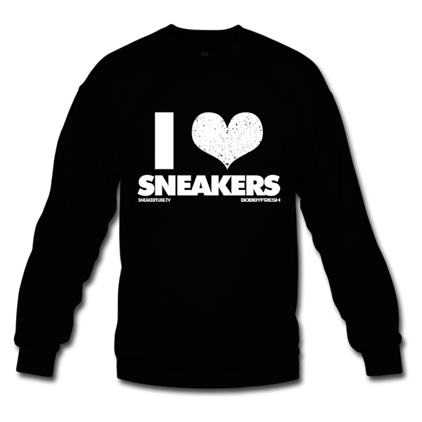 Bobby Fresh x SneakerTube I Love Sneakers Black/White Crewneck