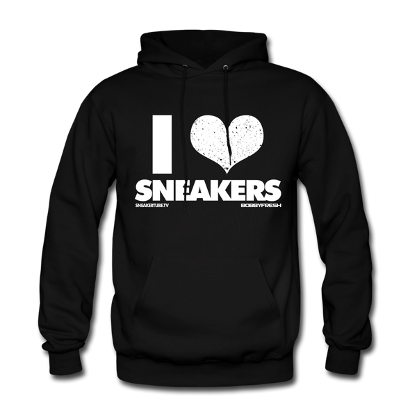 Bobby Fresh x SneakerTube I Love Sneakers Black/White Hoodie