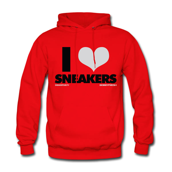 Bobby Fresh x SneakerTube I Love Sneakers Red Toro Hoodie