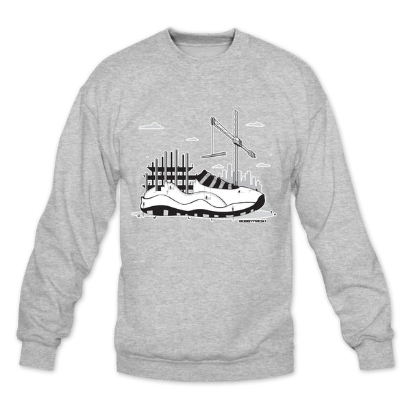 Industrial Heather Grey Crewneck