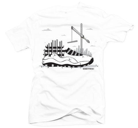 Industrial White Tee