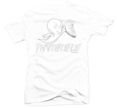 Invisible White Tee