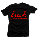 Jackpot Black/Red Tee - Bobby Fresh