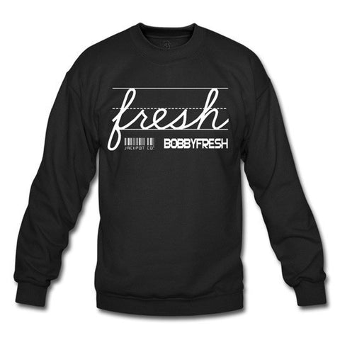 Jackpot Black/White Crewneck