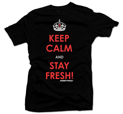 Keep Calm Crimson Tee