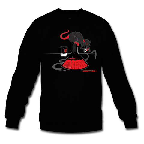 Lab Rat Black/Infrared Crewneck