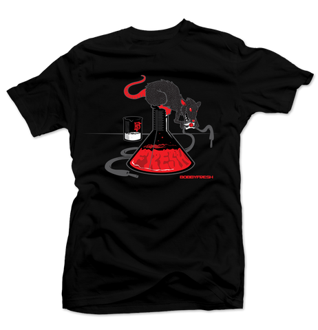 Lab Rat Black/Infrared Tee