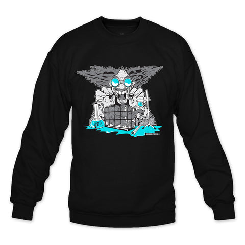 Mad Fresh Black Crewneck