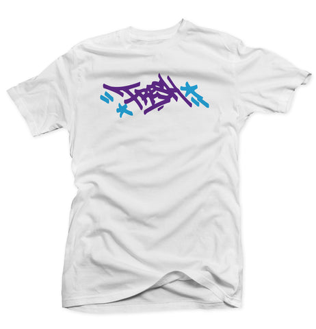 Mayor White/Purple Collab Tee