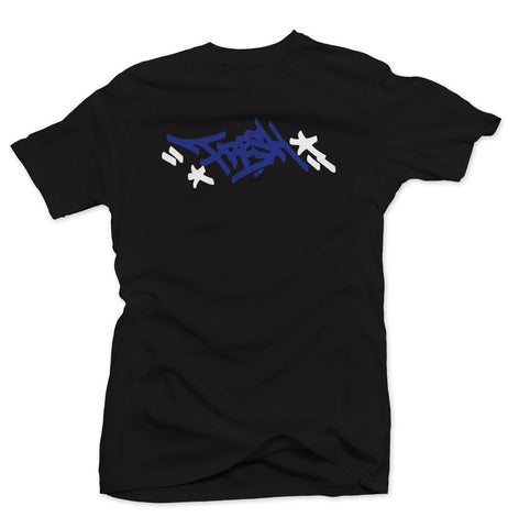 Mayor Black/Blue Tee