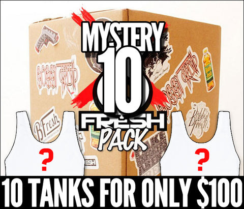 Limited Edition Mystery Fresh Tanks 10 Pack