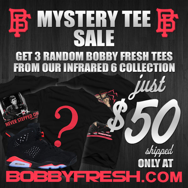 Infrared 6 Mystery Box (3 Pack of Tees) - Bobby Fresh