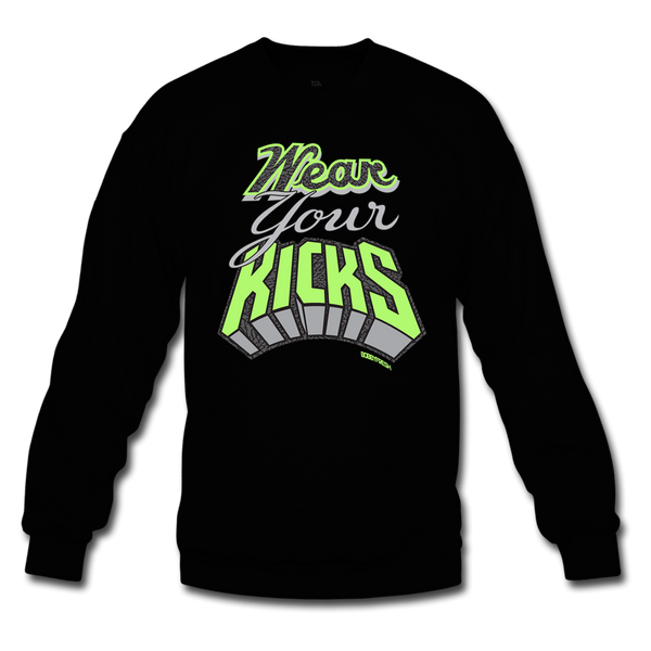 Bobby Fresh x Quickstrike Wear Your Kicks Black/Volt Crewneck