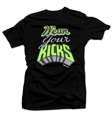 Bobby Fresh x Quickstrike Wear Your Kicks Black/Volt Tee