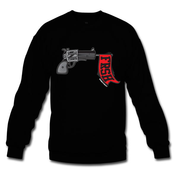 Ready Set Fresh Black/Red Crewneck
