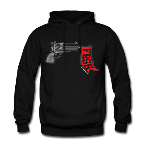 Ready Set Fresh Black/Red Hoodie