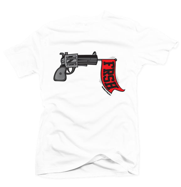 Ready Set Fresh White/Red Tee