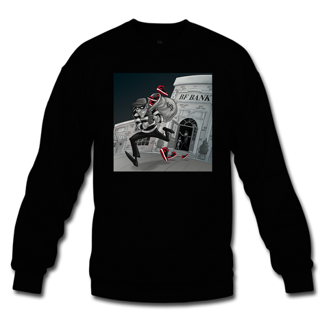 Robbery Black/Red Crewneck - Bred 1