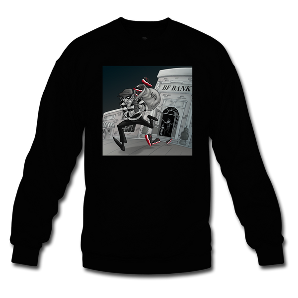 Robbery Black/Red Crewneck - Bred 11