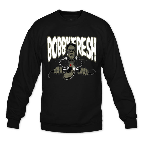 Shocker Black Crewneck