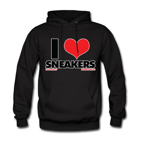 Bobby Fresh x SneakerTube I Love Sneakers Black/Red Hoodie