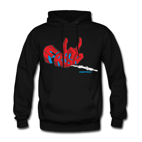 Spider Foam Black/Red Hoodie