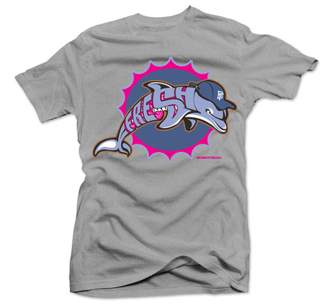 Splash Heather Grey Tee