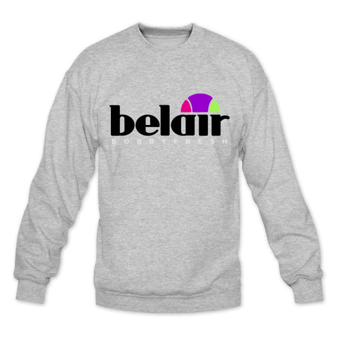 Sportif Heather Grey/Bel Air Crewneck
