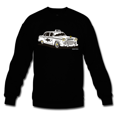 Taxi Black/Gold Crewneck