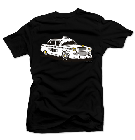 Taxi Black/Gold Tee