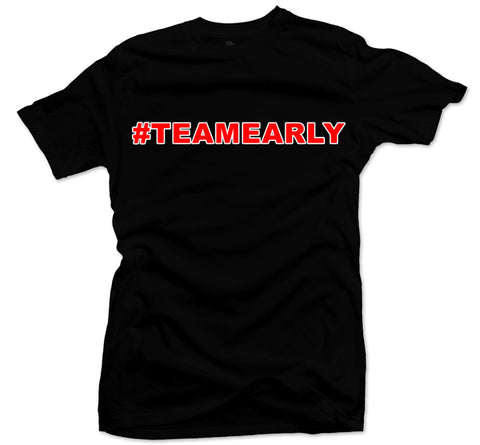 Team Early Black/Red Tee
