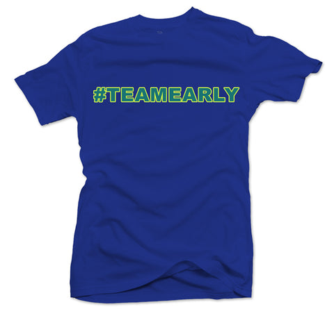 Team Early Royal/Green Tee