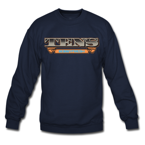 Tens Navy/Orange Crewneck