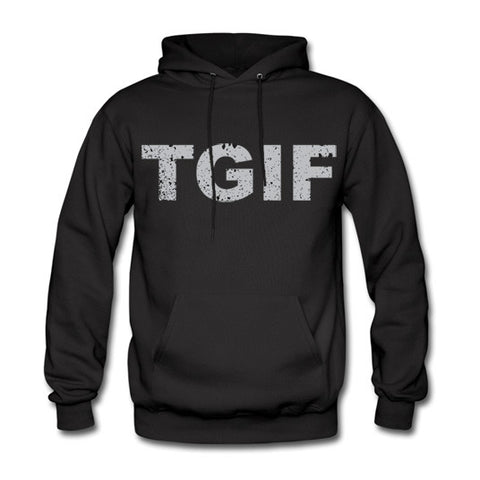 TGIF Cement Hoodie