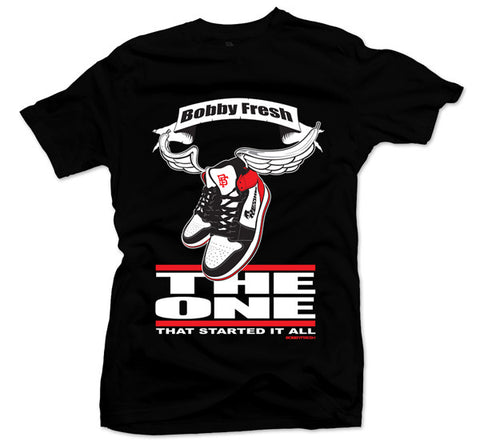 The One Black Toe Tee