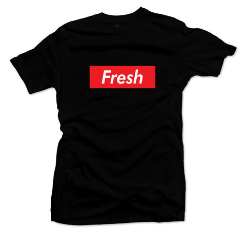 The Fresh Box Black Tee