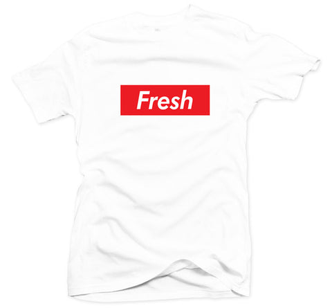 The Fresh Box White Tee