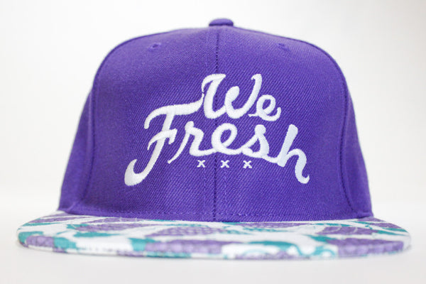We Fresh Purple Strapback