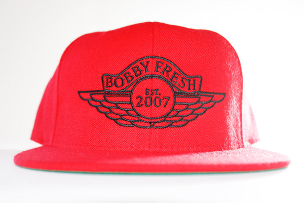 The Wings Red/Black Snapback