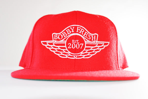 The Wings Red/White Snapback