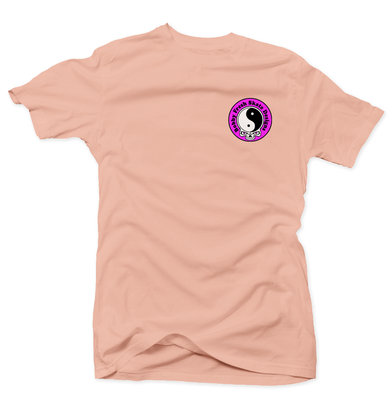 Back to the Beach Salmon Tee - Bobby Fresh