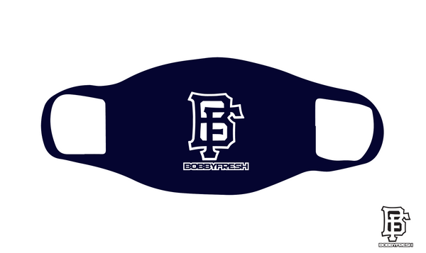 BF Logo Navy Mask - Bobby Fresh