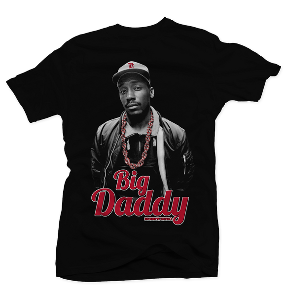 Big Daddy Black Tee - Bobby Fresh