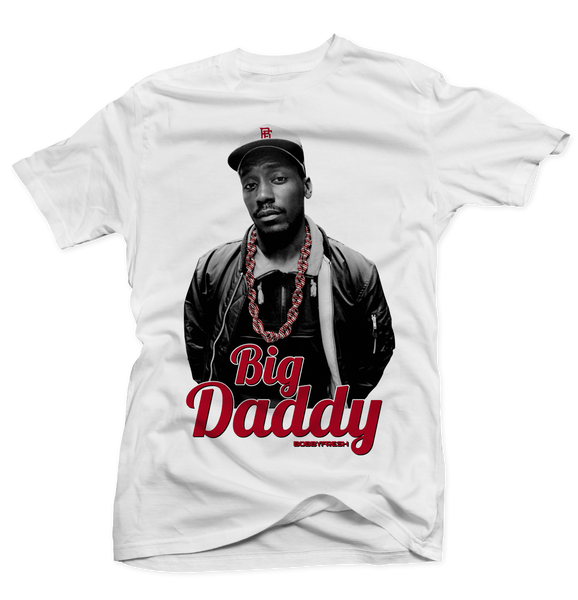 Big Daddy White Tee - Bobby Fresh