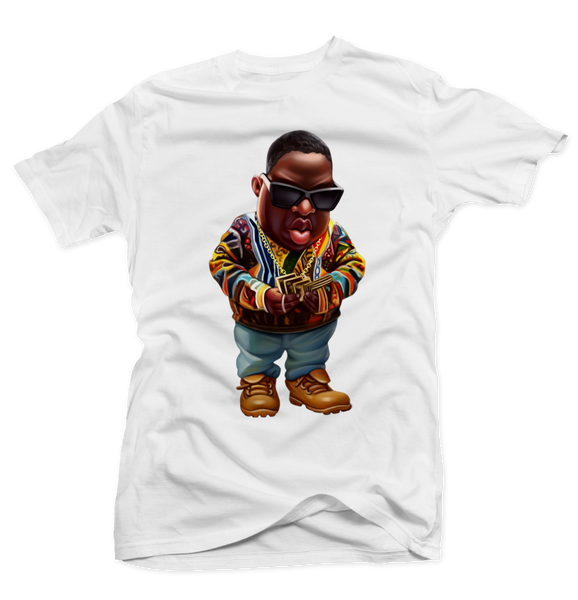 Give me the Loot White Tee - Bobby Fresh