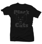 Black Cats Black Tee - Bobby Fresh